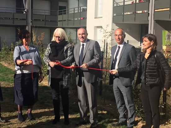 Sogerim et Alliade inaugurent la résidence « Côté 8 ».
